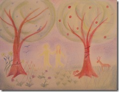 ot adam and eve drawing mom