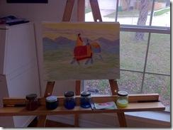 mahabarhata painting pandava 5th grader