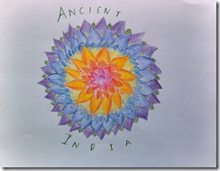 Ancient India cover flower - 5th grader_small
