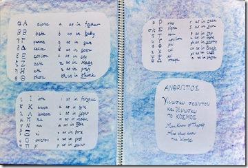 greek alphabet 5th grader