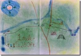 mile measure 3rd grader