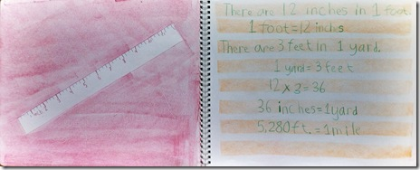 ruler measurements 3rd grader