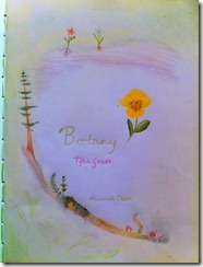 5th grader 1 botany cover