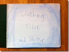 01 clothing fiber shelter cover