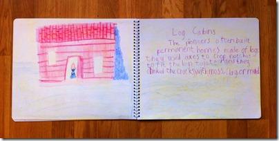 12 log houses
