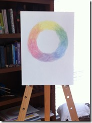 color wheel painting mom 2