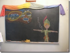 peter pan chalkboard