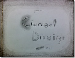 00 Cover charcoal drawings