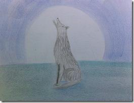 09 wolf mom pencils