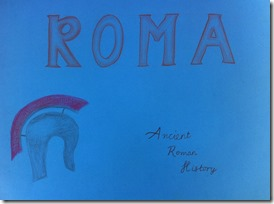 Rome 01 Cover Page