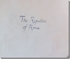 Rome 14 Republic