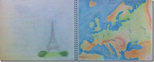 02 6th grader europe map