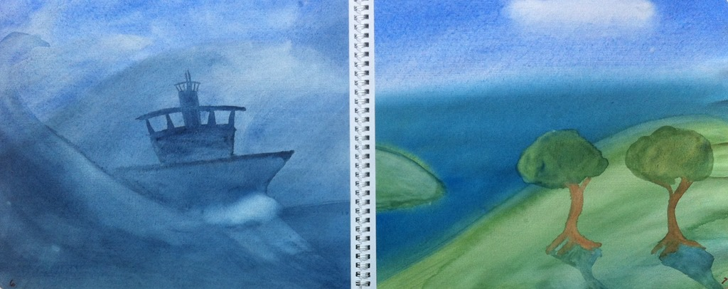 Comparing paintings essay