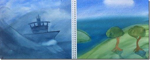 03 paintings 6th grader north sea mediterranean
