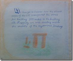 08 6th grader stonehendge