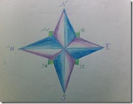 h 05 compass rose